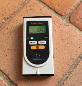 Mesure de l'humidité du sol
